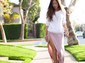 Shot Style Faldas largas, sexys colores pastel