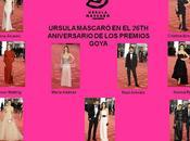 Goya 2012. celebrities seducidas Ursula Mascaró.