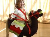 Caballo dragón cuerpo entero para niños