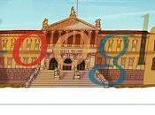 Google celebra años Biblioteca Nacional España