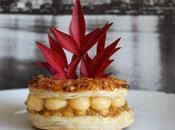 Mini roscón hojaldre almendrados, compota manzana crema catalana