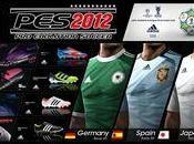 PESS 2012 cuenta nuevas equipaciones España, Alemania Japón.