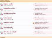 www.calzadousado.com, página para vender fetichistas