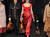 tren Louis Vuitton llega pasarela París, Otoño/Invierno, 2012-2013