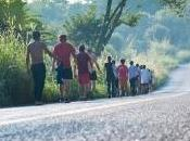 sábado corredores americanos Agua llegan Santiago