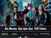 Maratón Marvel Studios Estados Unidos antes estreno Vengadores