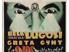 ojos misteriosos Londres human monster (1939)