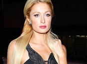 Paris Hilton medias dibujo portaligas
