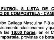 Convocatoria selección gallega alevín fútbol (20/03/2012)