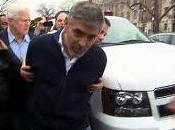 George Clooney arrestado frente embajada Sudán