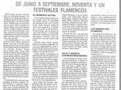 iniciativa esfuerzo peñas pocos festivales hubieran podido realizar Cabrero 1982)