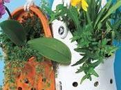 Deco-recicla: maceteros reciclados