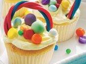 Cupcakes Cesta Pascua