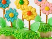 Florecitas para cupcakes!